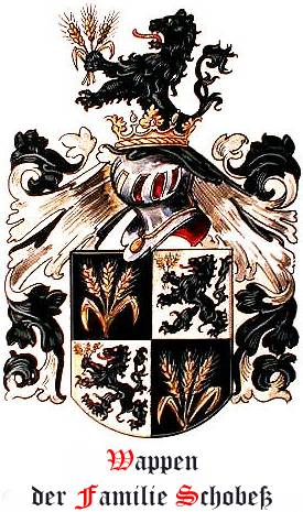 Wappen der Familie Schobeß